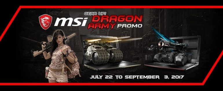 MSI Announces Dragon Army Promo!
