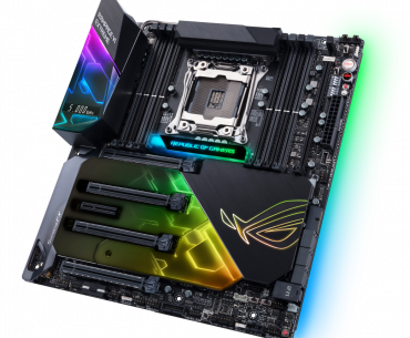 ROG Rampage VI Extreme 3D 370x305 - ASUS X299 Based Motherboards Now Available in the Philippines