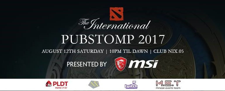 MSI Invites You to The International 2017 Pubstomp on August 12!