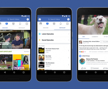 Facebook Introduces Watch: A New Platform for Your Videos