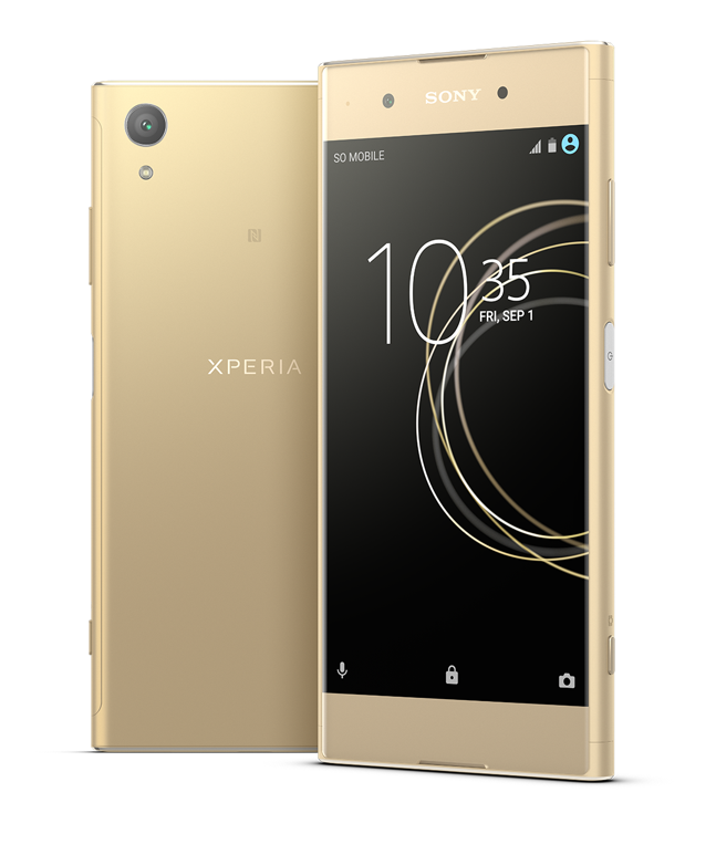 Sony Unveils Xperia XA1 Plus: 23MP Camera and Android Nougat