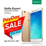 OPPO F3 Plus Gets Weekend Price Cut: Only PhP21,990 Until October 1!