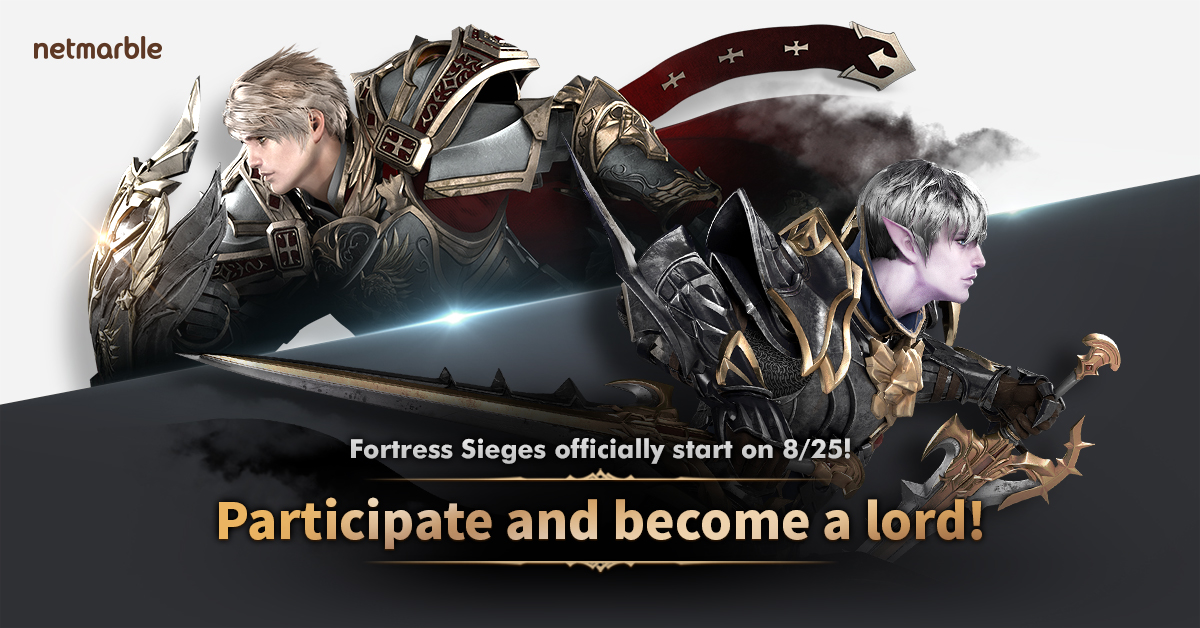 Lineage2 Revolution Kicks Off Fortress Siege Regular Season