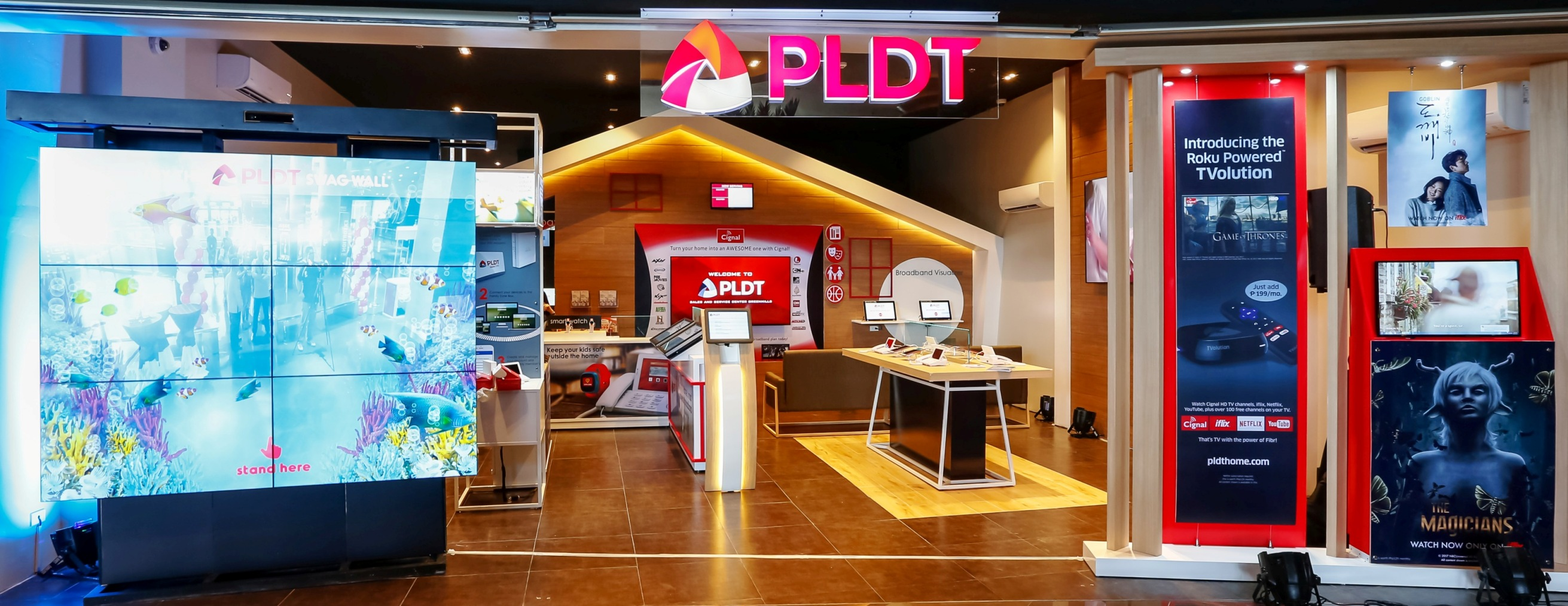 PLDT Opens First Concept Store in Metro Manila: Redefines the Boundaries of Digital Experience