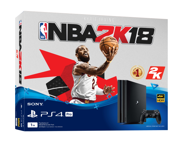 Sony Announces NBA 2K18 PS4 Bundle for PH