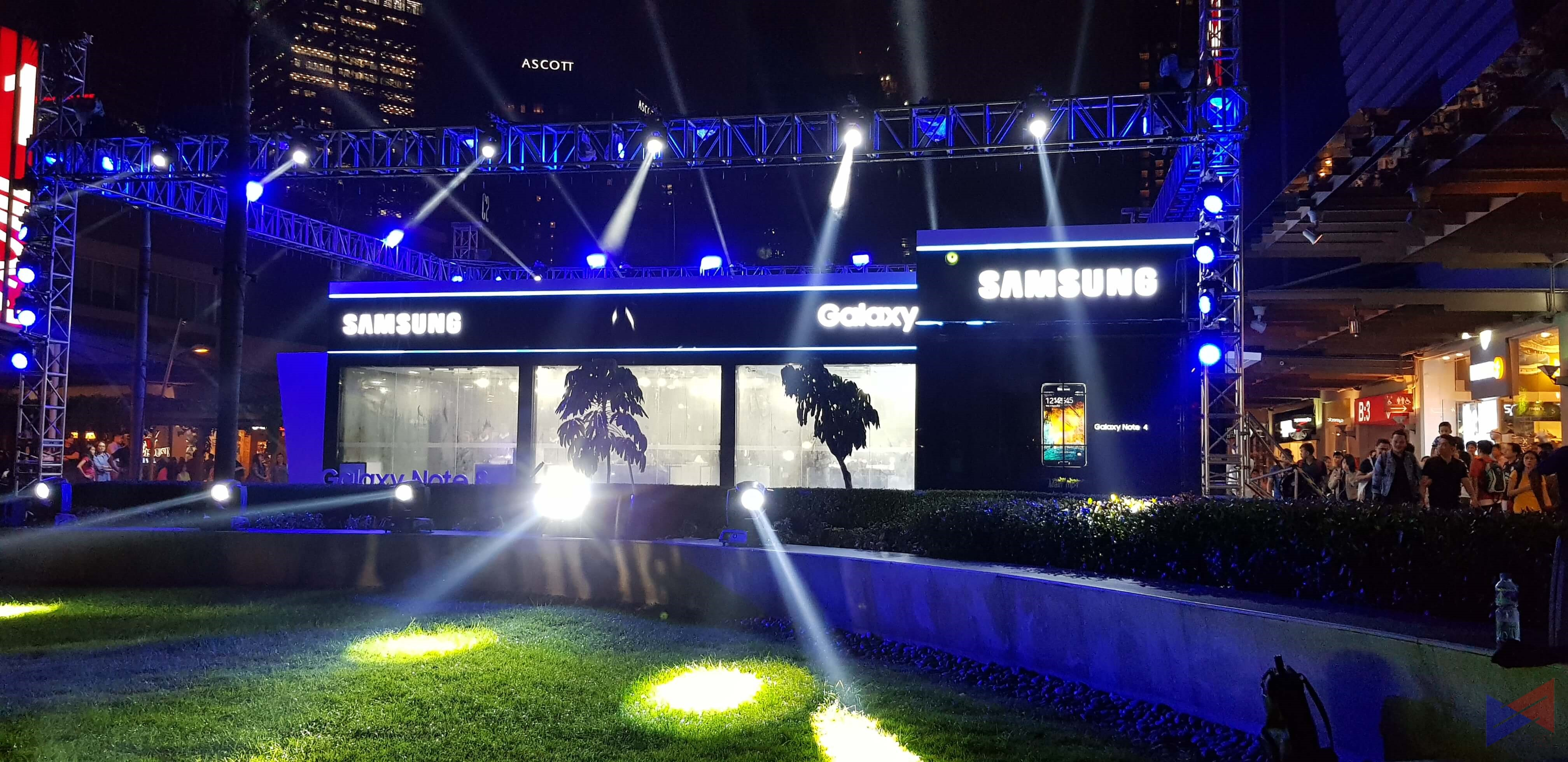 Samsung Opens Galaxy Studio at Bonifacio High Street!