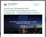 The Huawei Mate 10 Will be Unveiled on October 16