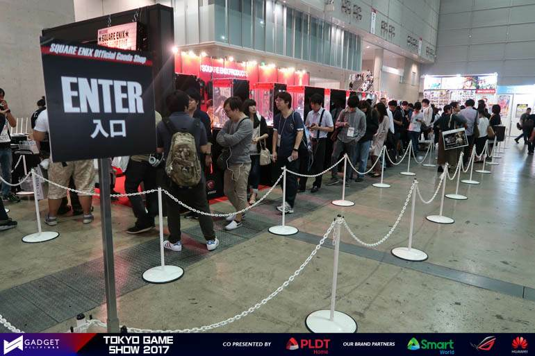 tgs 001 - Tokyo Game Show 2017: Over 250,000 Visitors, e-Sports is a Hit!