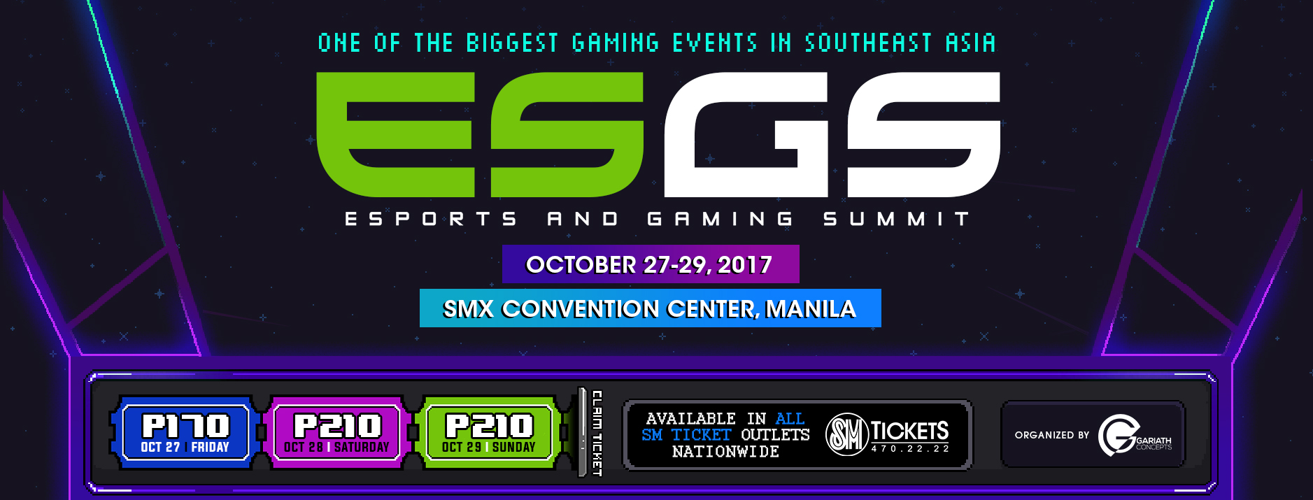 ESGS 2017 banner - Here's What to Look Forward to at ESGS 2017