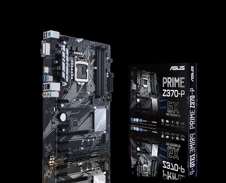 ASUS Announces Z370 Motherboards for Coffee Lake CPUs