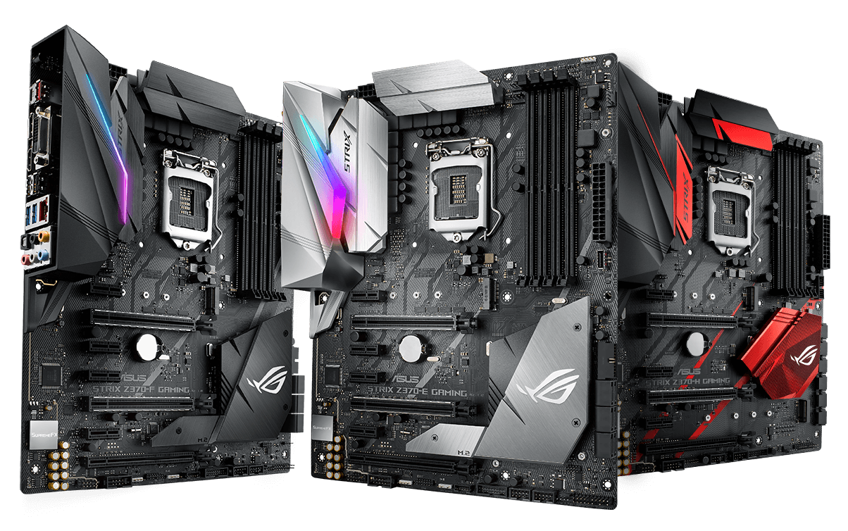 ROG Strix Z370 series 1 - ASUS ROG Maximus X and Strix Z370 Motherboards Priced: Coming this November