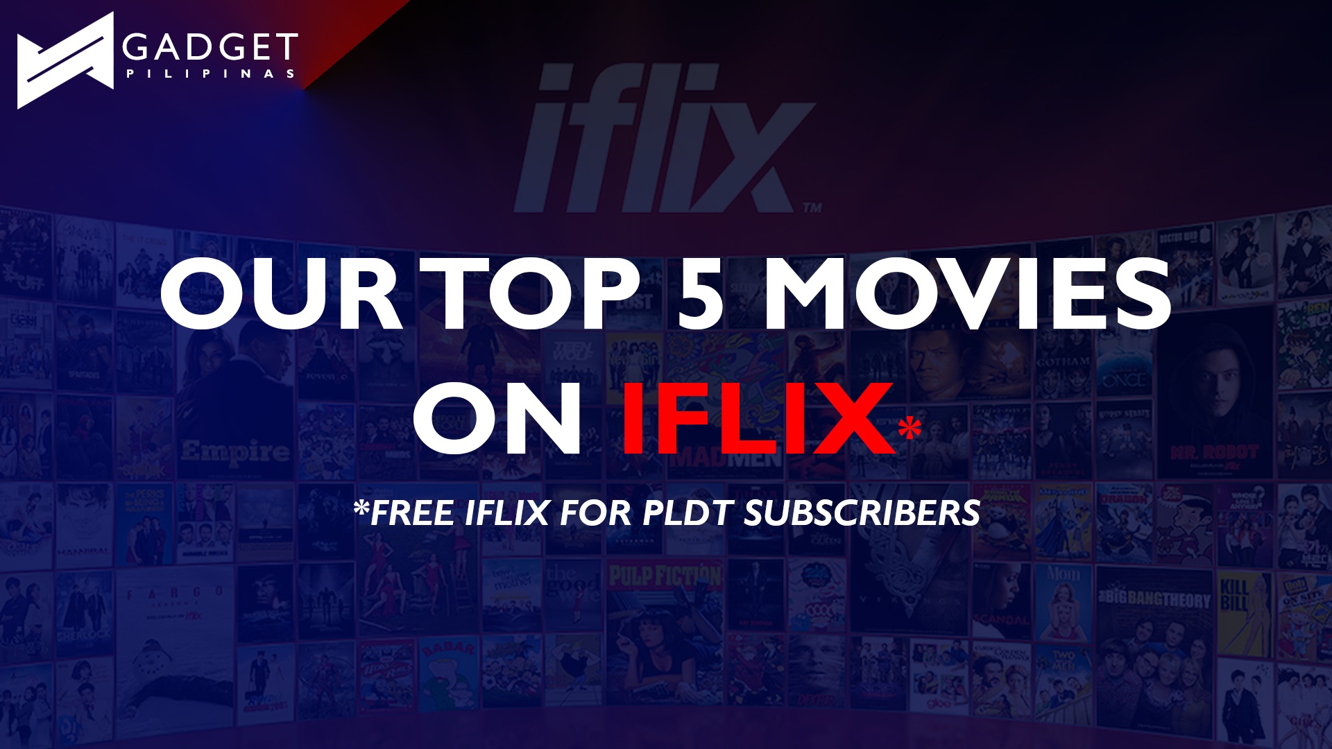 iflix free - Our top 5 movies to watch on iFlix