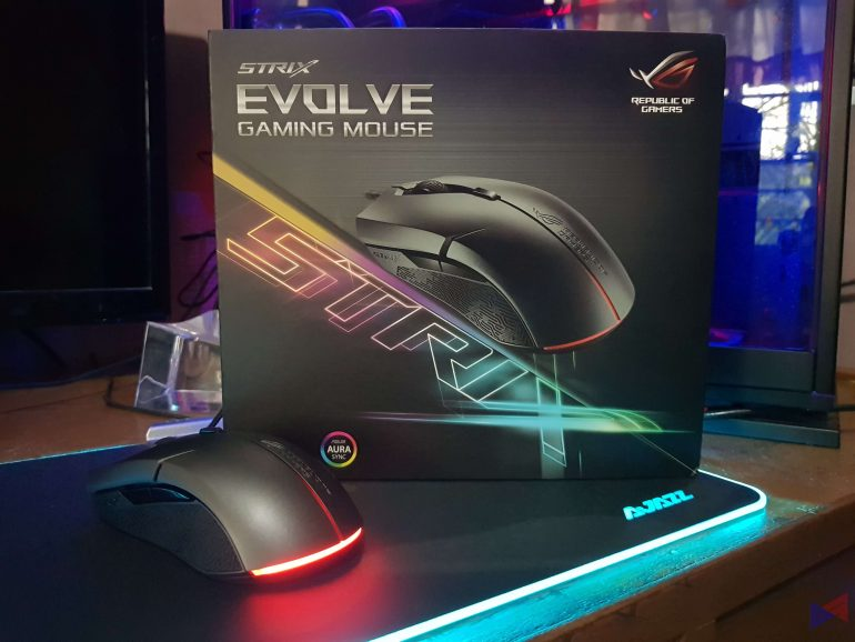 strix evolve 18 770x578 - ASUS ROG Strix Evolve Gaming Mouse Review: For All Hands