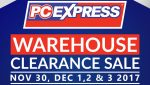 PC Express Announces Annual Warehouse Clearance Sale!