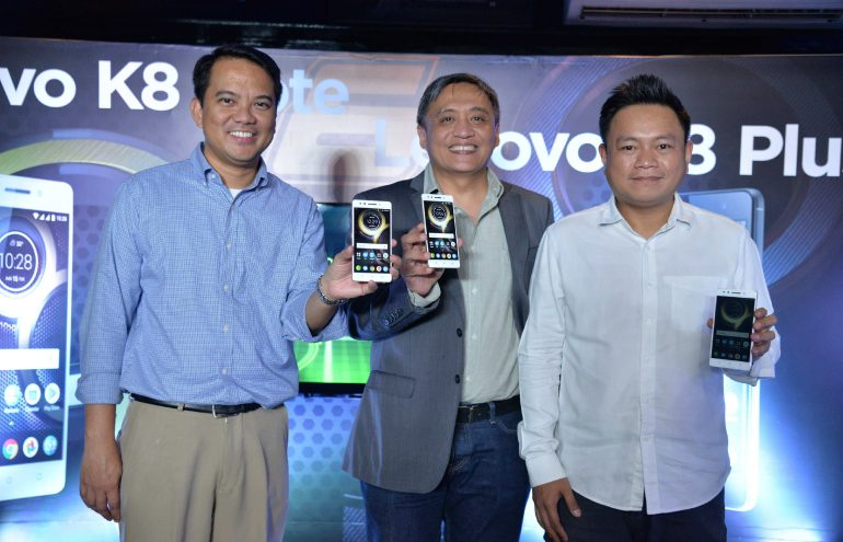 Lenovo K8 Family Launch 770x495 - Lenovo K8 Note and K8 Plus Launches in PH: Dual Cameras on a Budget