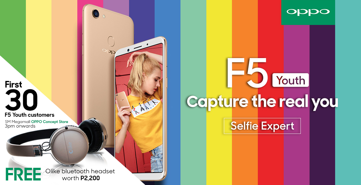 OPPO F5 Youth Bundle KV - OPPO F5 Youth Set to Debut in PH on November 25!