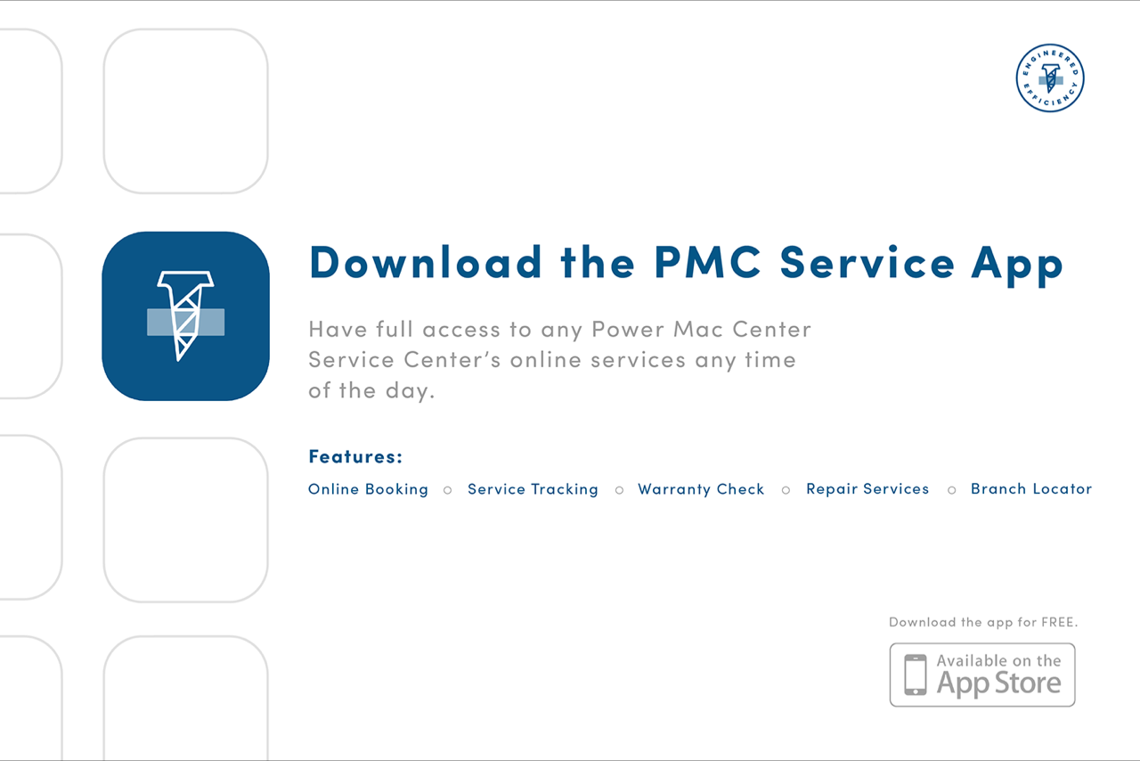 PMC Service App - Power Mac Center Launches Service Center Mobile App