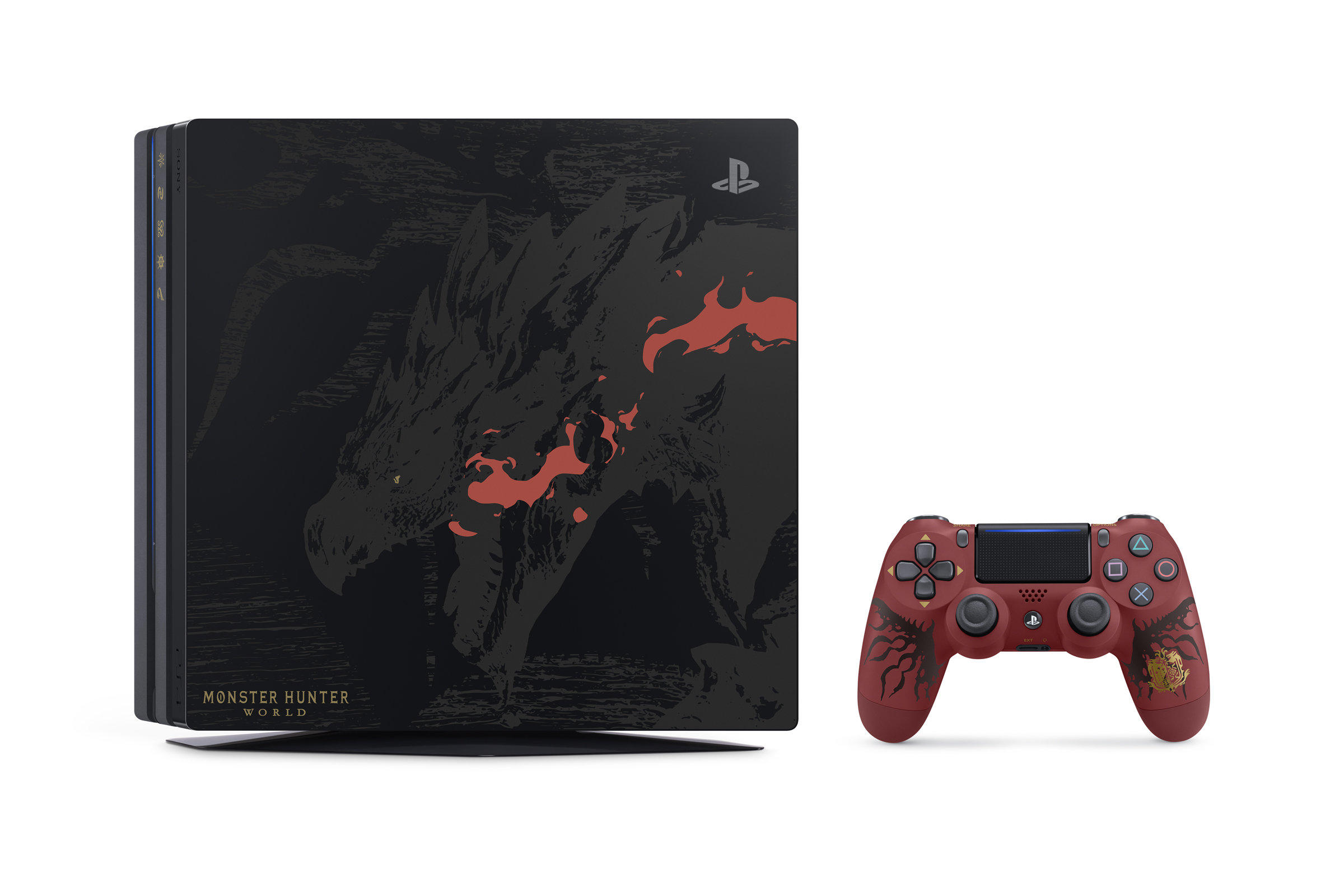 PS4 MONSTERHUNTERWORLD 02 1 - This PlayStation 4 Pro Monster Hunter: World Rathalos Edition is what occupies our mind right now