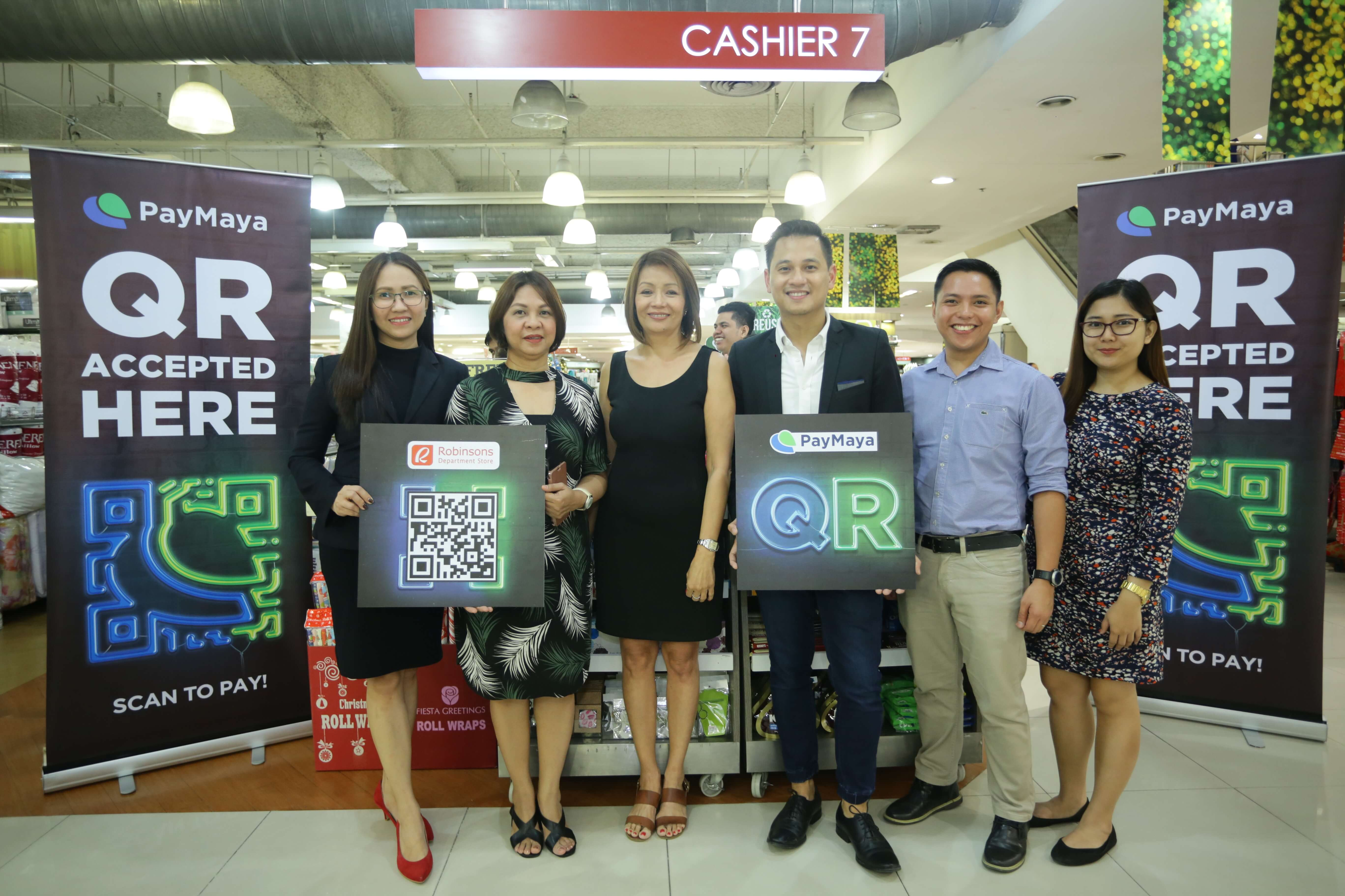 PayMaya x RDS 1 - Shop with PayMaya at Robinson's Department Store in Galleria!
