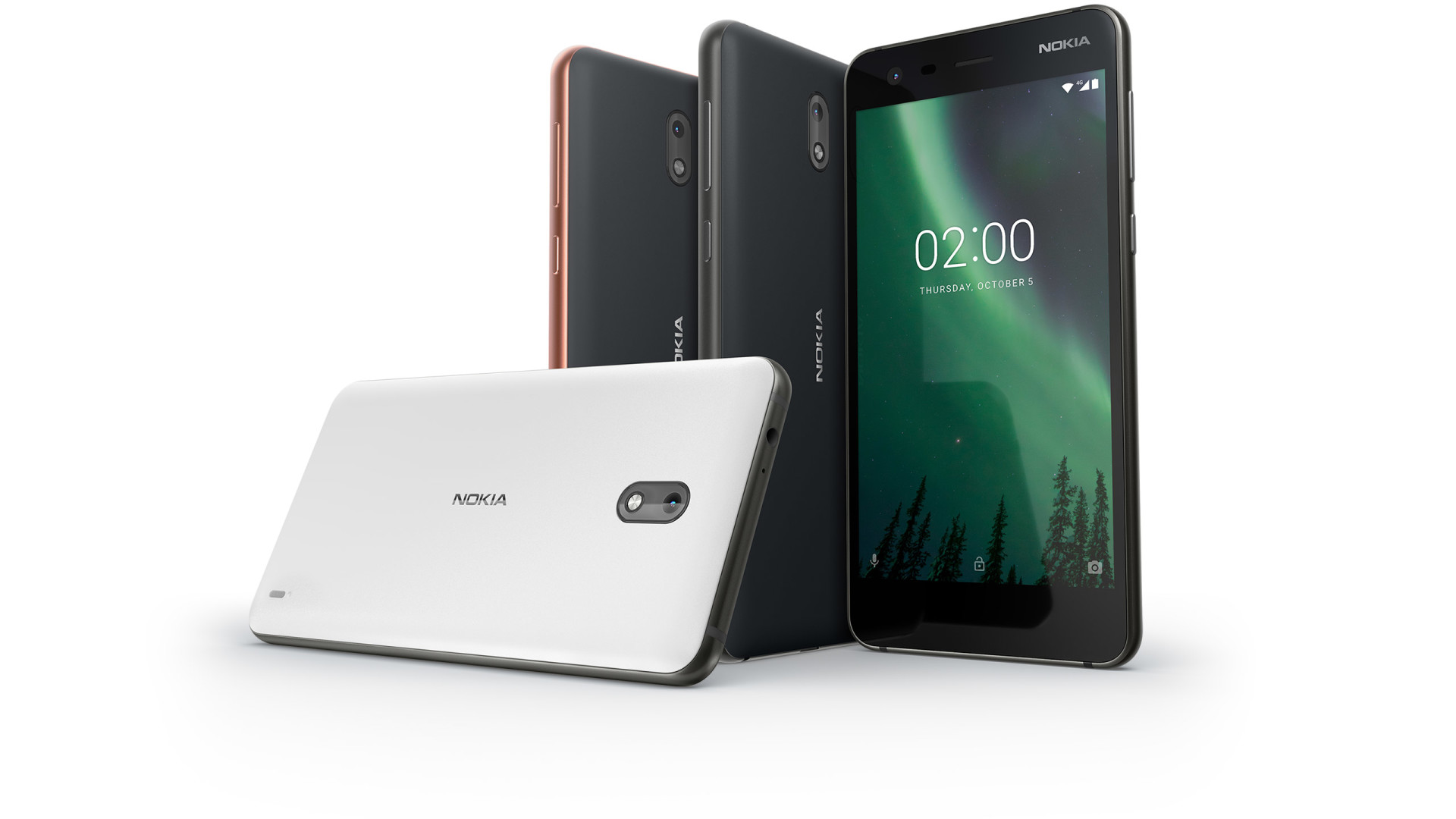 nokia 2 the design - Nokia 2 Announced, Promises 2 Days of Battery Life