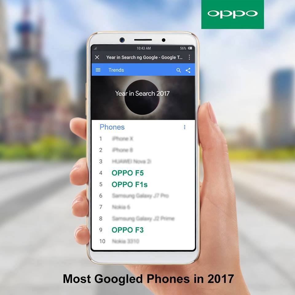 25348521 10157122784058079 7795861457090846518 n - OPPO F5 and F1s are among the most searched Googled smartphones