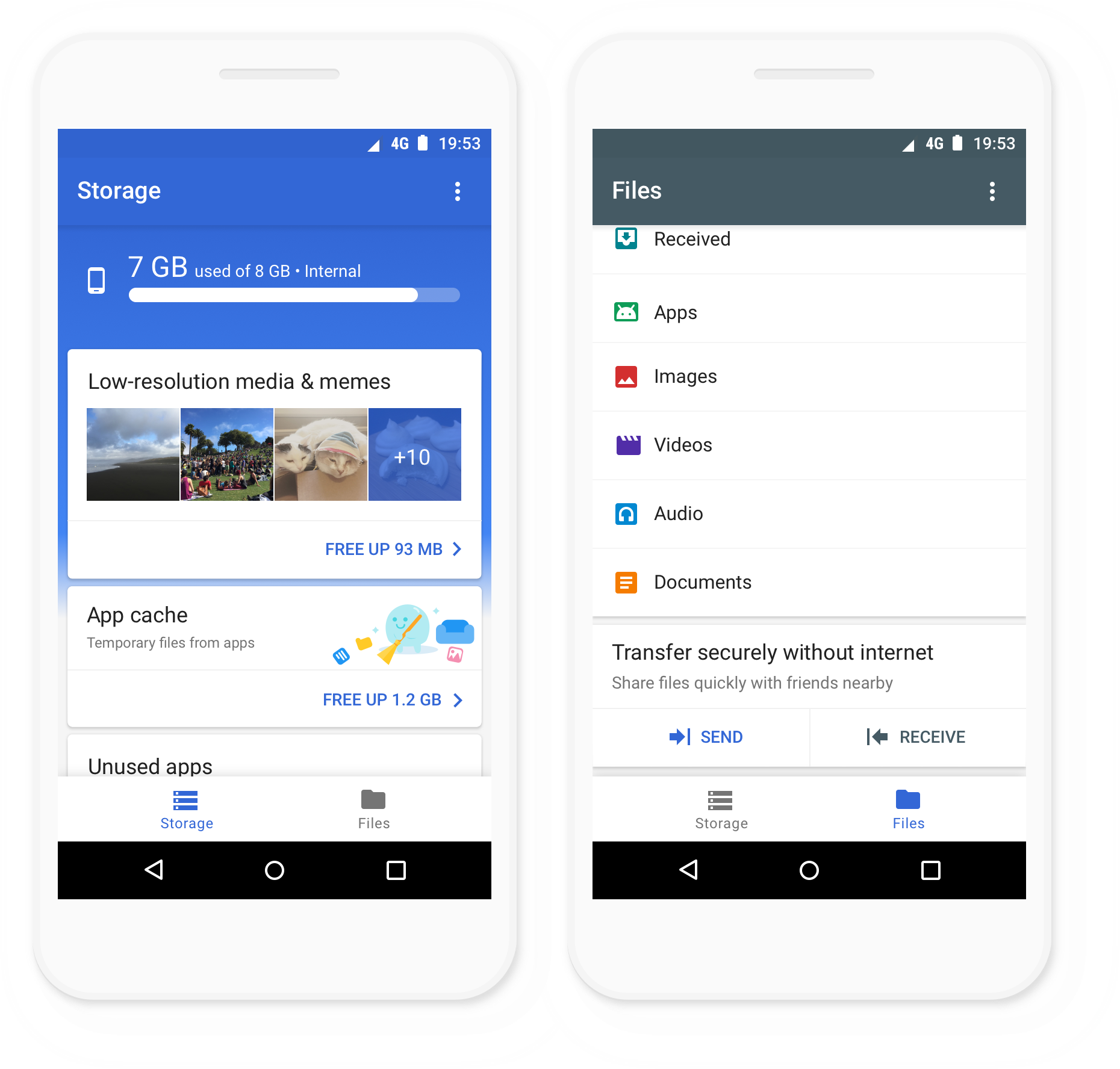 Files Go Photo 1 - Google Launches Files Go: A Better Way of Managing Files on Your Phone