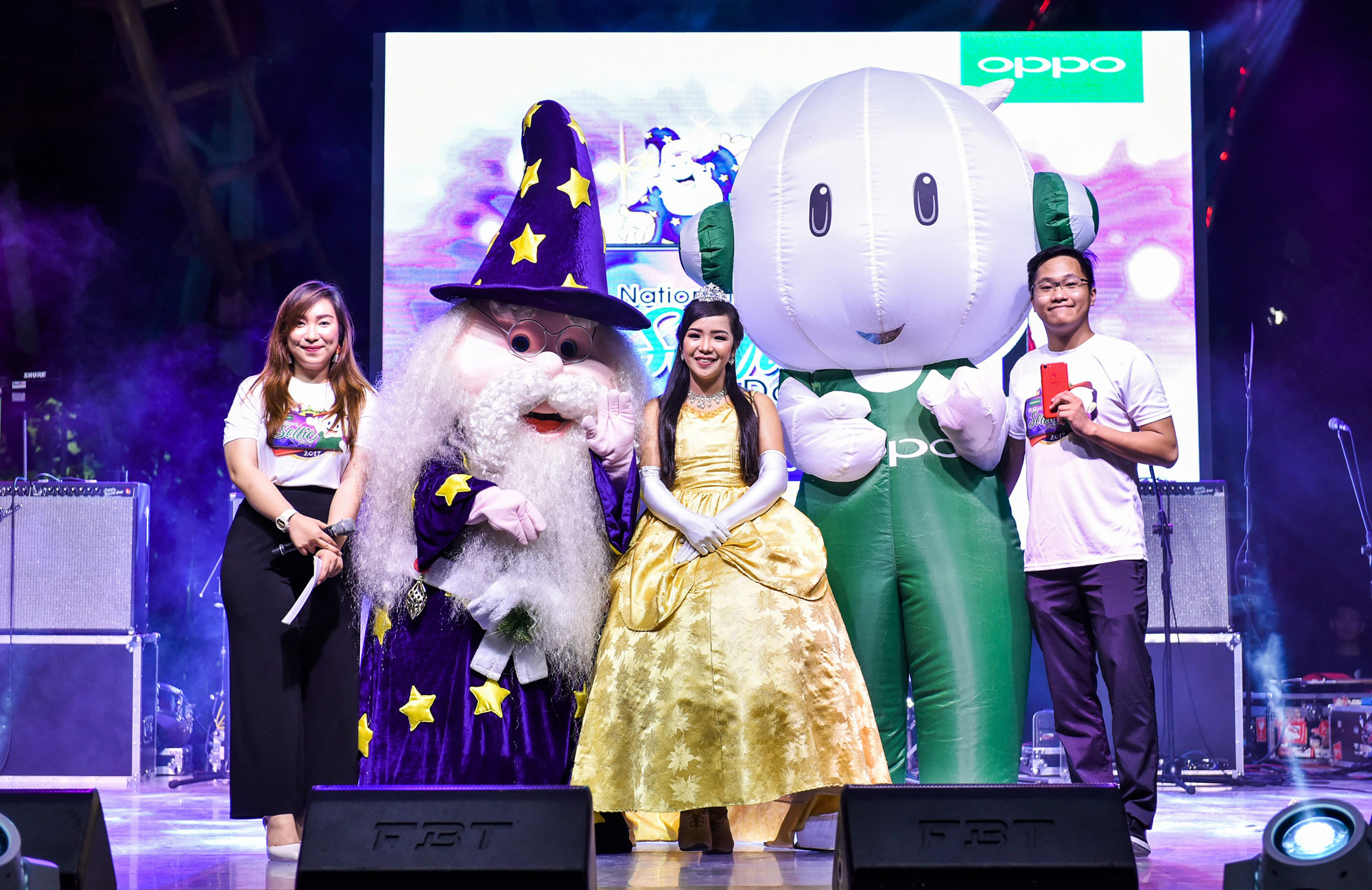 OPPO Celebrates National Selfie Day at Enchanted Kingdom