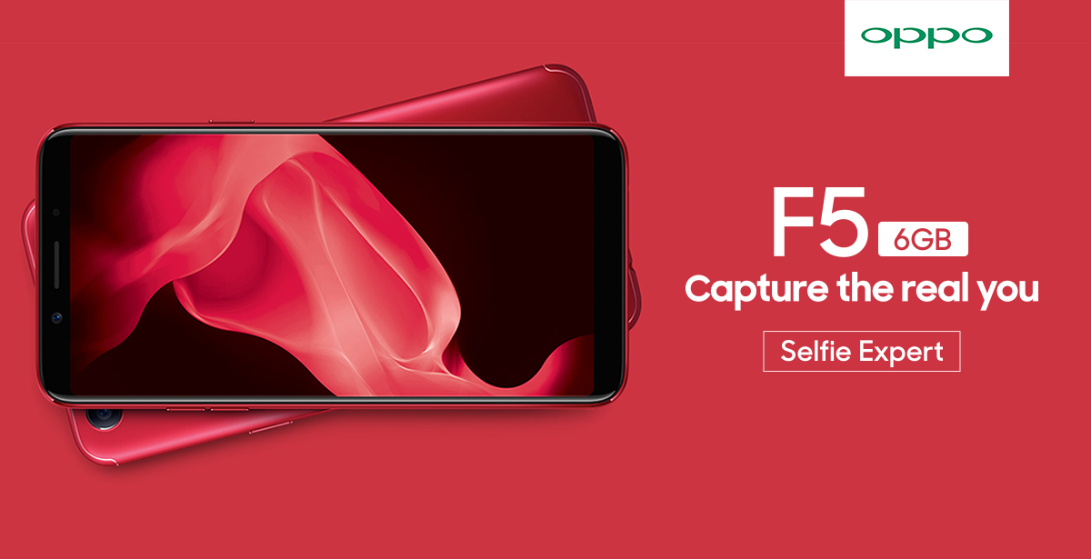 OPPO F5 Youth KV - OPPO Announces Limited Edition Red OPPO F5 with 6GB of RAM!