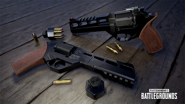 playerunknowns battlegrounds pubg r45 desert map revolver nvidia reveal render 640px - The R45 Revolver is the Newest Weapon in PUBG's Desert Map