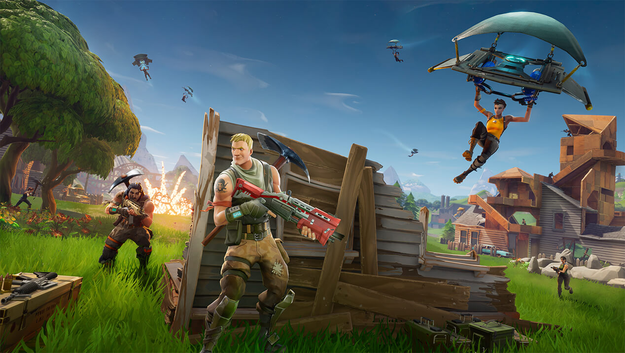 Fortnite home fn battle royale 1268x717 cf9fa8a783c249aa8d6929126e29f5f190620357 - NVIDIA Releases Game Ready Driver for Fortnite Battle Royale