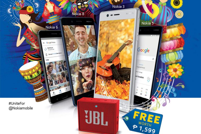 Get a FREE JBL Go Speaker With Every Purchase of a Nokia Android Smartphone!