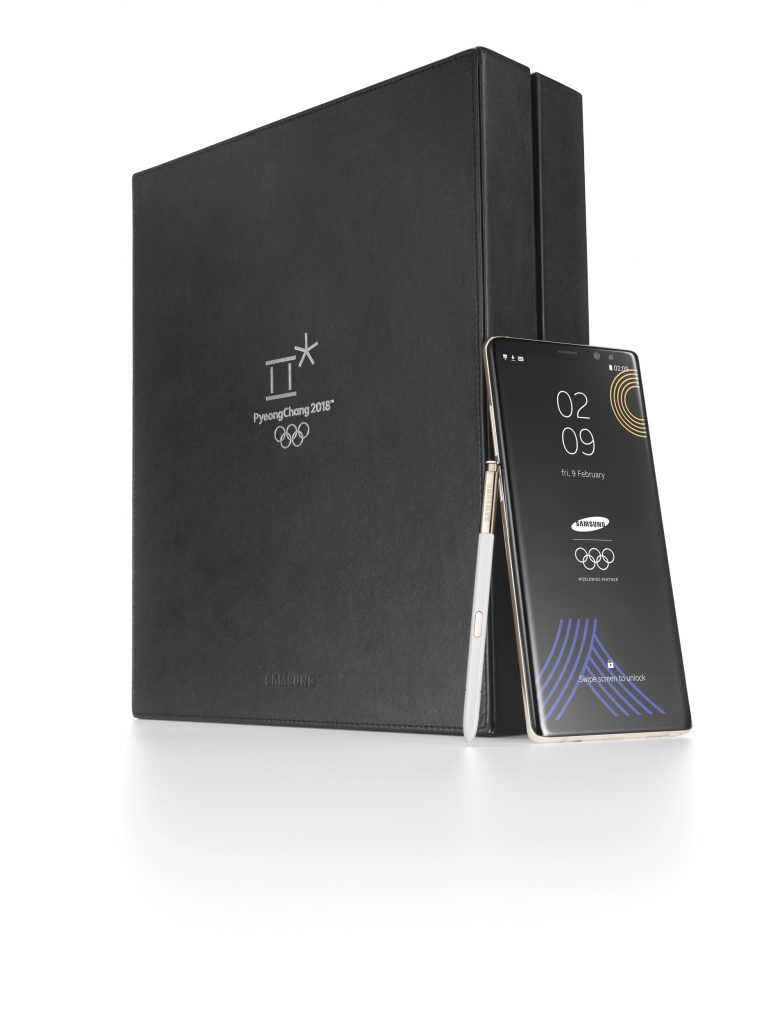PyeongChang 2018 Olympic Games Limited Edition 4 768x1024 - Samsung Announces Limited Edition Galaxy Note 8 for Upcoming Winter Games