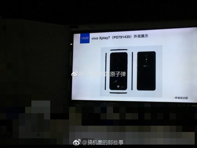 Vivo Xplay7 leaked, with 10GB of RAM and Under-Display Fingerprint Sensor