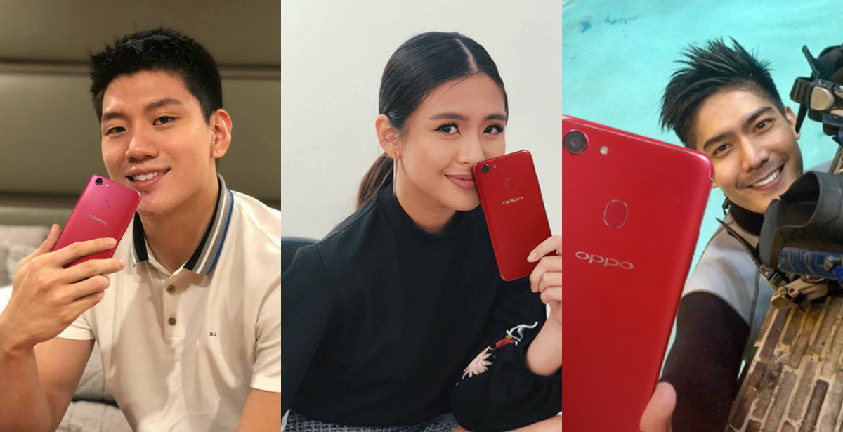 influencers oppof5red - OPPO F5 Now Available in Red
