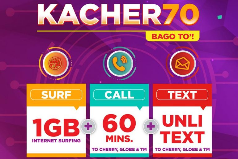 Cherry Prepaid launches its FIRST Tri-Net Data Combo Offer