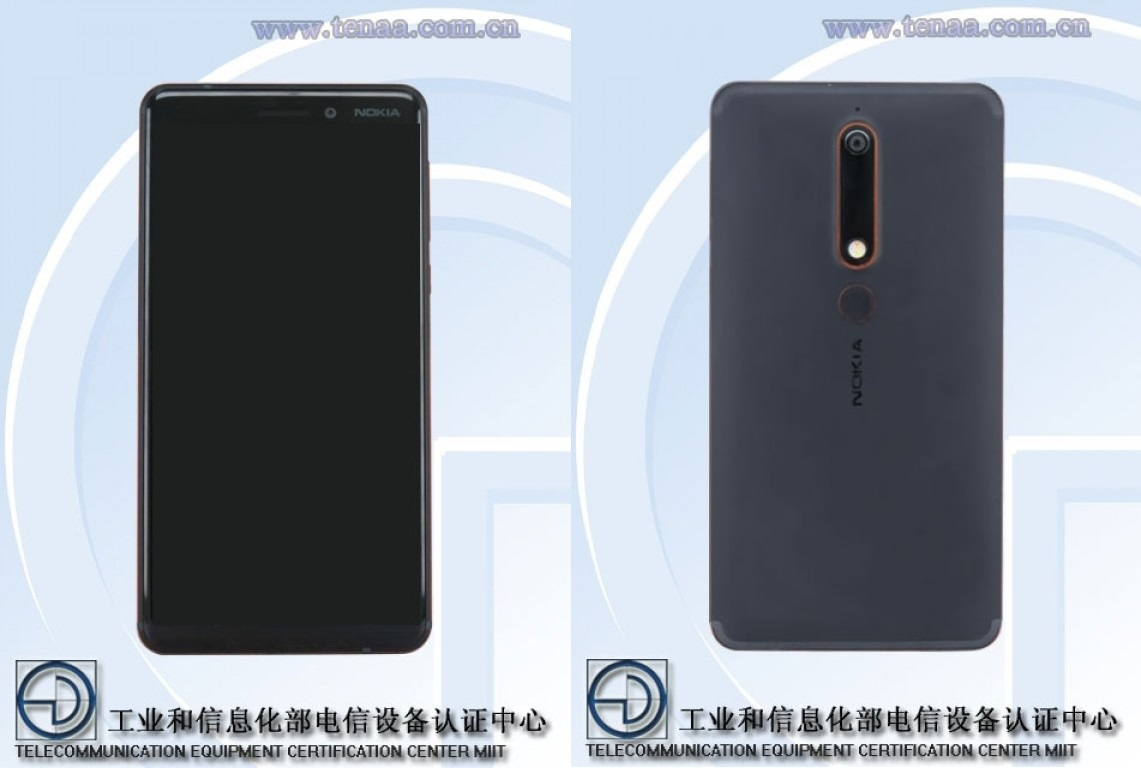 nokia6 2018 1 - Spotted in TENAA: Nokia 6 (2018)