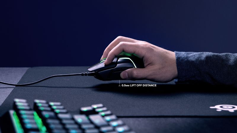 rival600 lowest lift off distance - New SteelSeries Rival 600 Gaming Mouse Tracks Your Movements Mid-Air