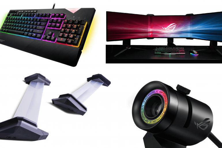 rog ces2018 1 770x515 - ASUS ROG Announces Latest Gaming Gear at CES 2018