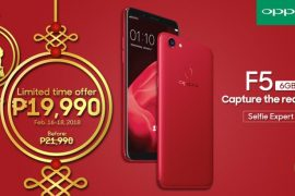 OPPO F5 Red 6GB Promo