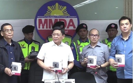 MMDA Equips Traffic Enforcers with Transcend DrivePro Body 10