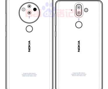 Nokia 10 sketched image 370x305 - Rumored Nokia 8 Pro May Be Equipped with a Penta-Lens Camera Module