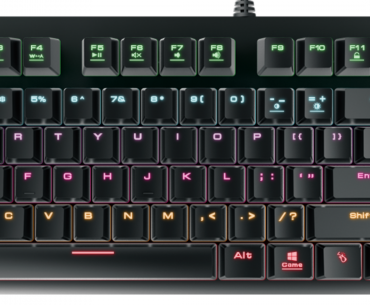 Gamdias Hermes E2 7Color Mechanical Gaming Keyboard Review
