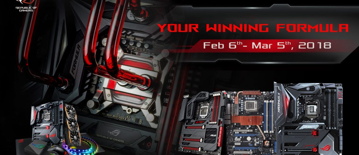 """ROG Maximus Formula, Showcase Your Powerful Rigs in ASUS ROG's """"Your Winning Formula"""" Contest!, Gadget Pilipinas"""