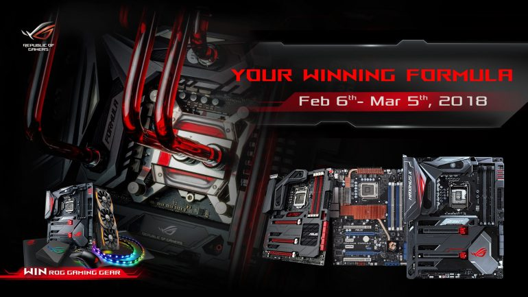 ASUS ROG Your Winning Formula