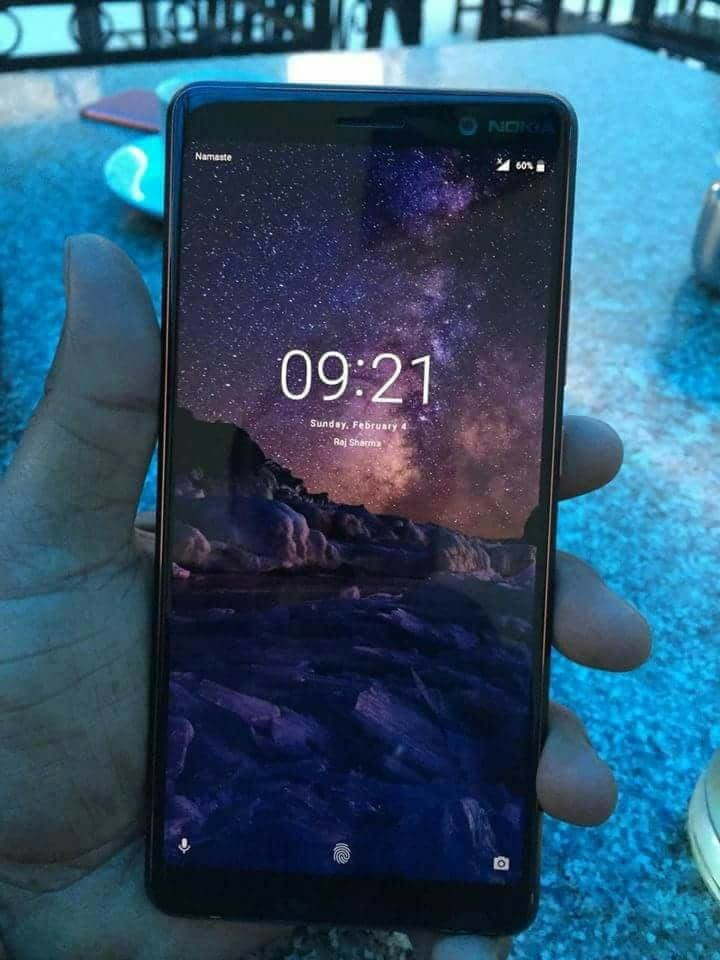 Nokia 7+ Image Leaks: Confirms 18:9 Display with Curved Glass