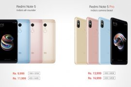 Xiaomi Redmi Note 5 and Note 5 Pro 1