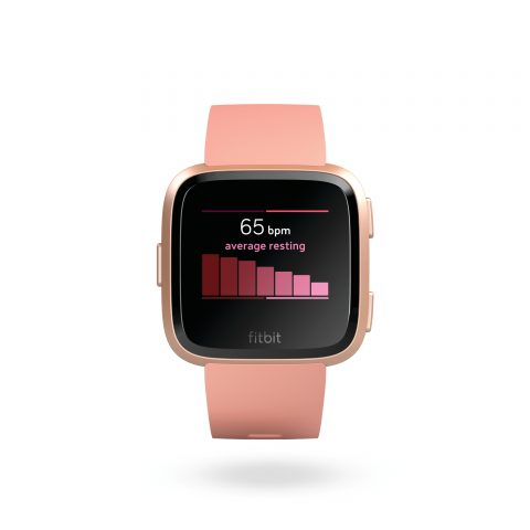 Fitbit Versa Front Peach 7 Day Heart 480x480 - The Fitbit Versa should be at the top of everyone's smartwatch list