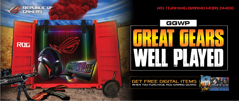 GGWP banner 1 - ASUS ROG Announces Great Gears, Well Played Promo