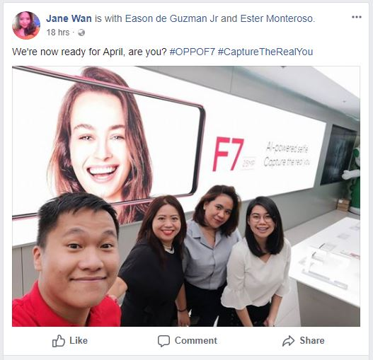OPPO F7, OPPO F7 to Launch in PH this April?, Gadget Pilipinas, Gadget Pilipinas