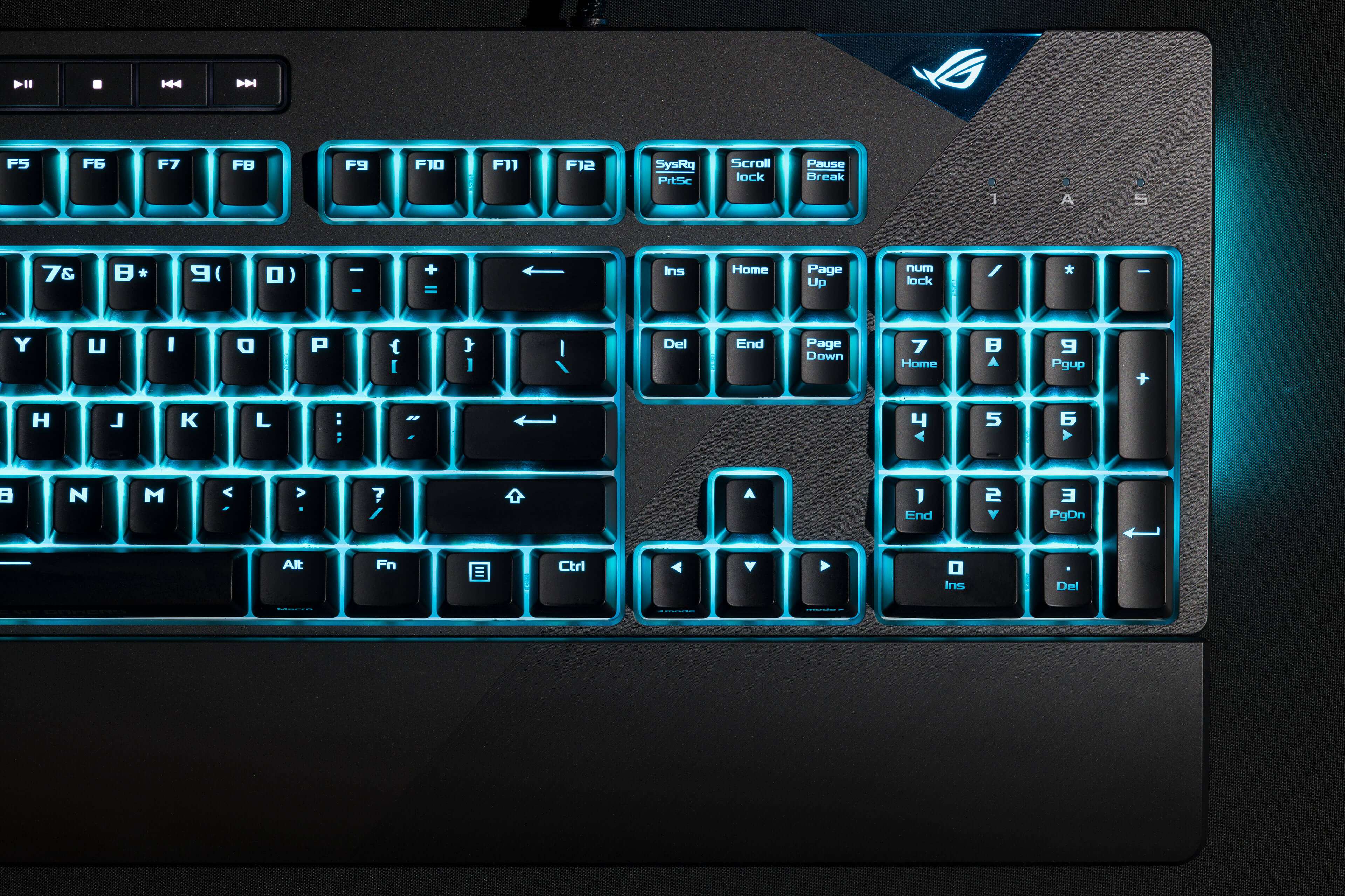 ROG Strix Flare 2D 1 Close Up Blue - ASUS ROG Strix Flare Mechanical Gaming Keyboard Now Available in PH